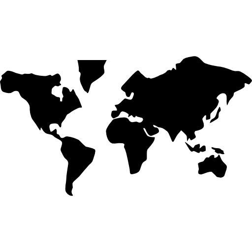 world map - icon