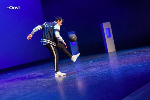 Freestyle voetbalshow - RTV Oost
