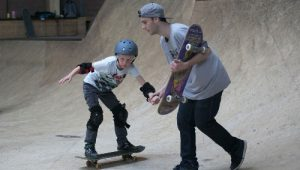 Skateboard clinic - Freestyler
